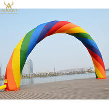 inflatable rainbow arches,customized inflatable arch