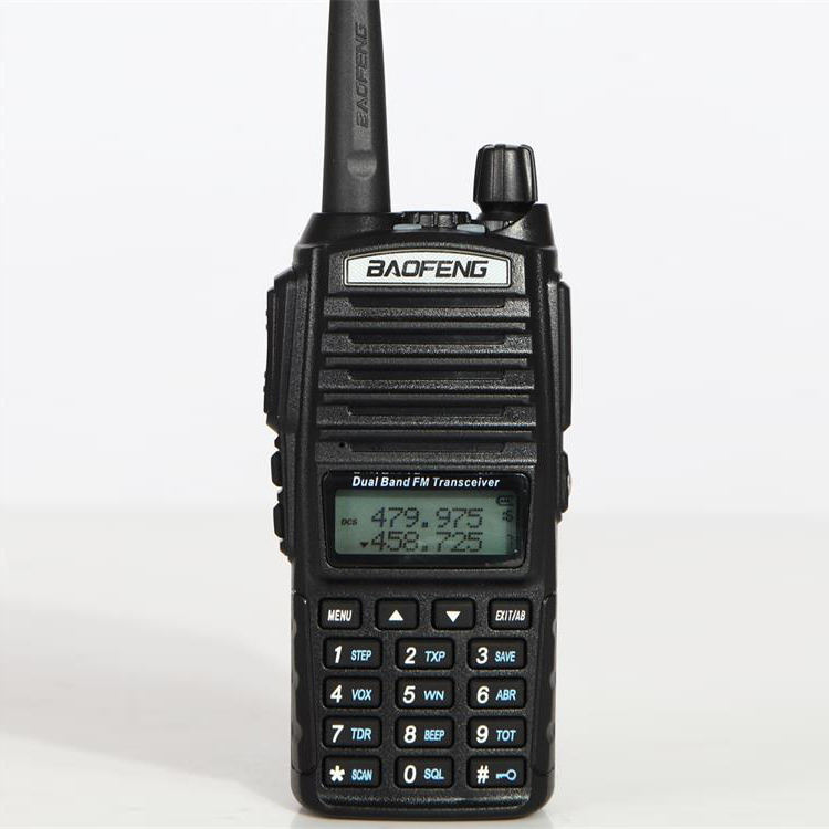 VHF UHF dual band walkie talkie Baofeng UV-82 5 W dua arah radio