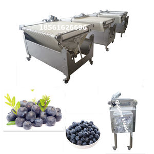 Automatic blueberry sorting machine, blueberry harvester for blueberry sorter machine, cherry grader