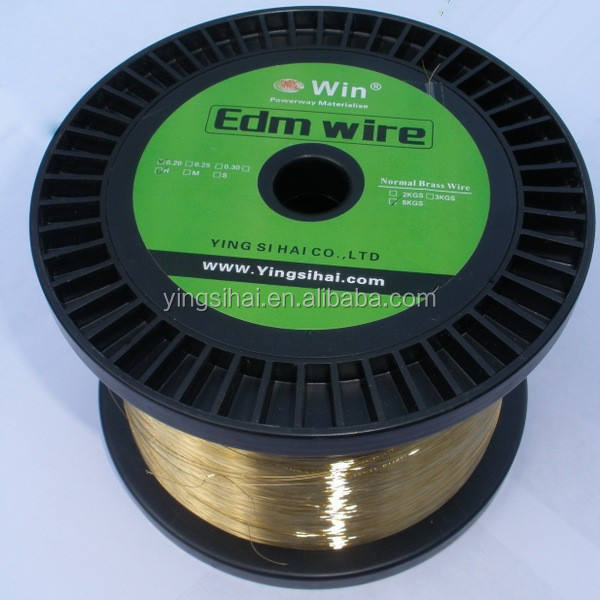 Wire Cut EDM Brass Wire Electrode WSH020 EDM Wire 0.25mm