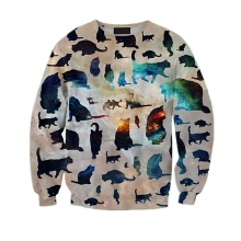 Anime hoodies&sublimation sweatshirt&french terry wholesale crewneck sweatshirt cc-357