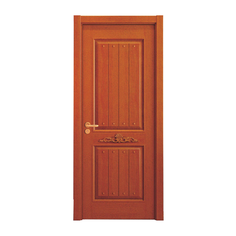 Perticular Pine Wood Door Design Window and Interior Wood Door