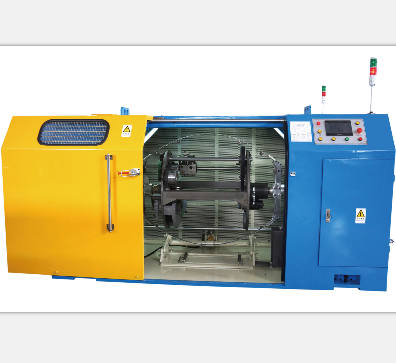 630mm C type PLC double twist stranding machine