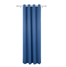 Ready made blackout curtains with magnetic strip hotel blackout curtain fabric