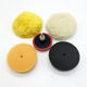 3inches Handy Rotary Car Polishing Pad Kit With Hook and Loop Foam and Wool Pads