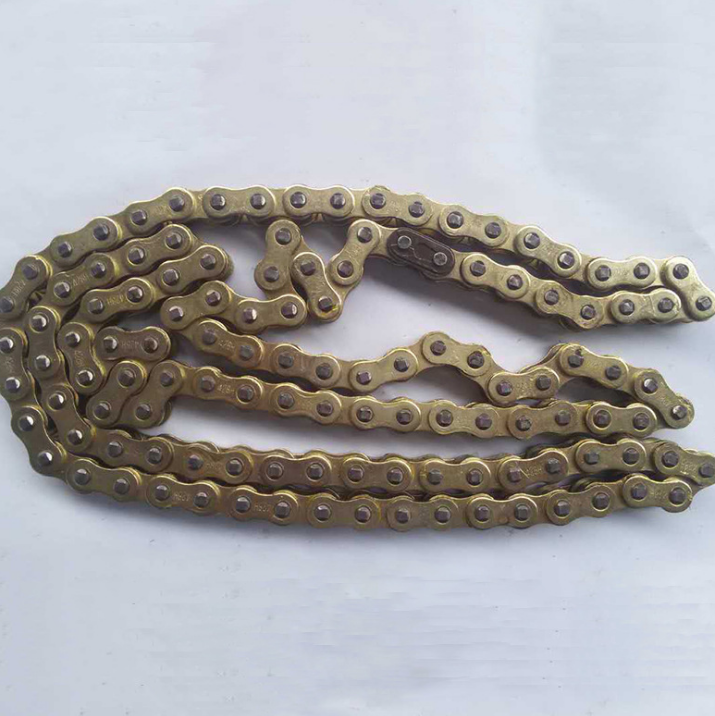 pitch 12.7mm gold motorcycle chain 428 428H