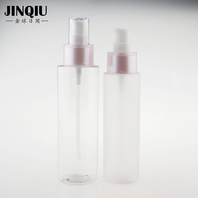 100ml 150ml clear frosted packaging mist perfume spray bottle with AS cap