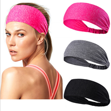 wholesale fashion hairband Non-slip Sweatband sport headbands custom women headband for yoga