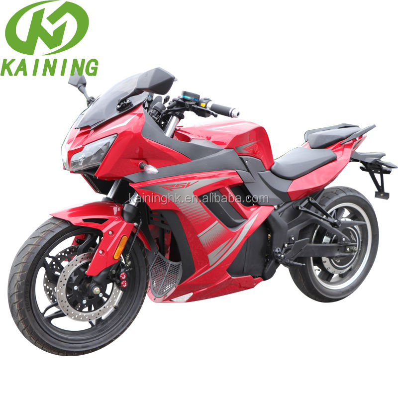 5000W Big Power Electric Racing Motorcycle with Lithium Battery