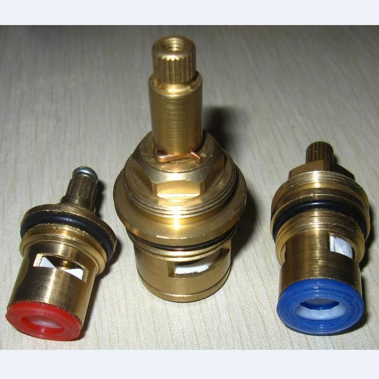 brass ceramic faucet cartridge 15mm ceramic disc brass cartridge for brass valve