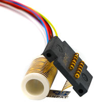 Separate Slip Ring 12 Circuits Compact LPS-12 Gold-Gold Contacts Smooth Running And Low Electrical Noise