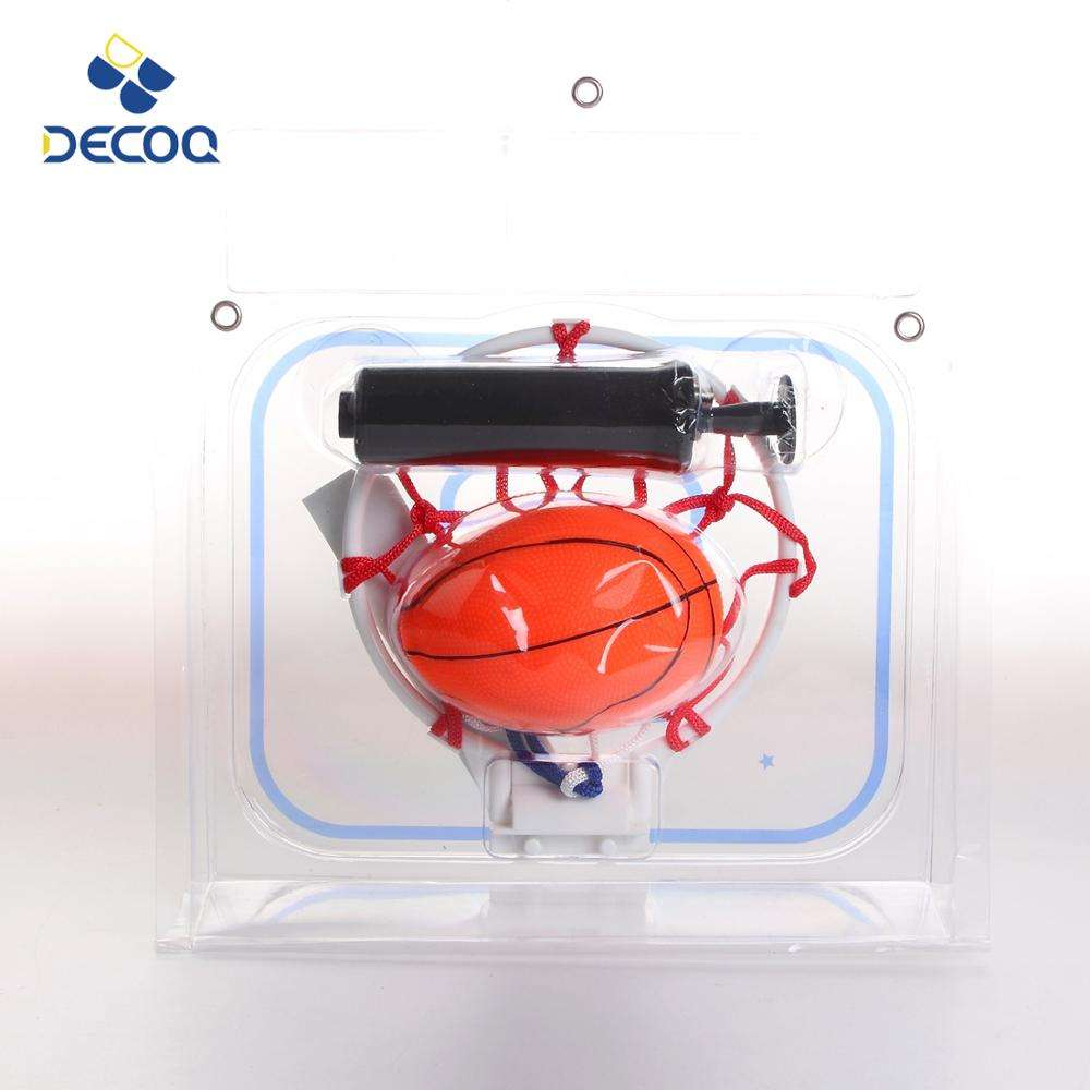 DECOQ Hot Sale Indoor Basketball Game Toy Mini Basketball Hoop Set For Kid
