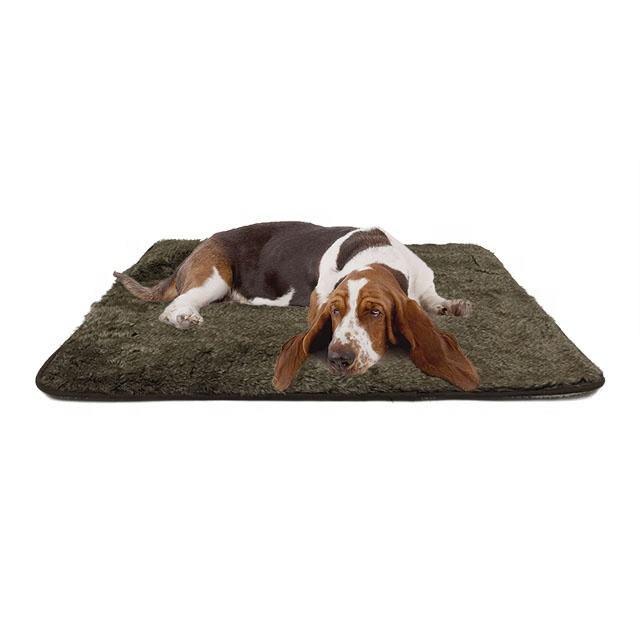 Pet Beds Accessories Faux Fur Dog Animal Blankets Pet Blanket Luxury Fleece Dog Blanket
