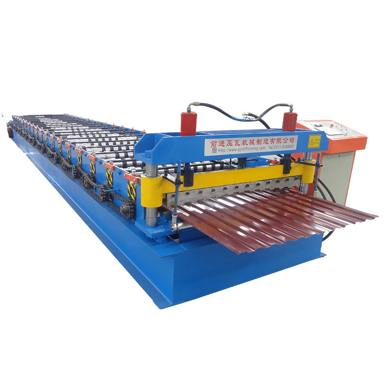 Zink Golfplaatprofiel Making Machine