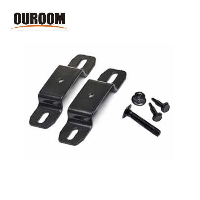 Ouroom/OEM Wholesale Products Customizable XY242856 High Quality Steel Fence Post Bracket
