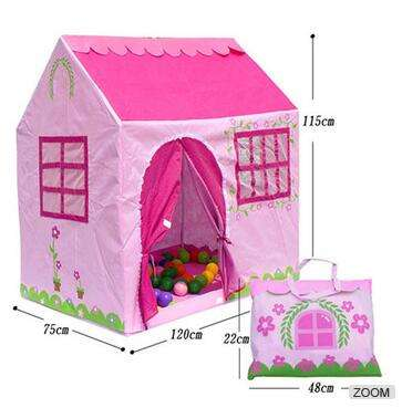 Pink Kids Play Tent House Manufacturer
