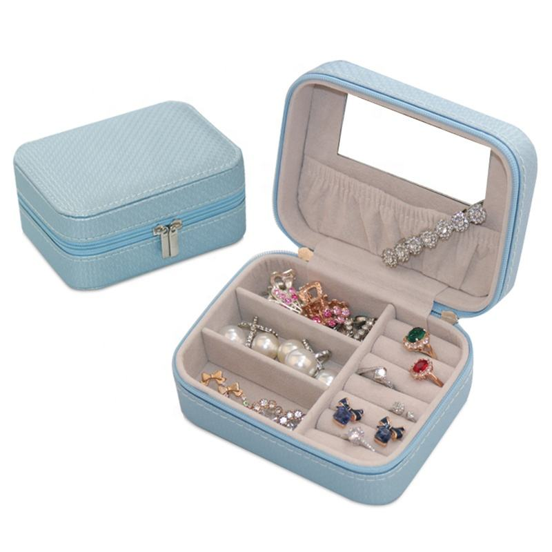 BMD Small Leather Jewellery Box for Mothers Day Good New Idea for Gifts 2021 - PU17001b