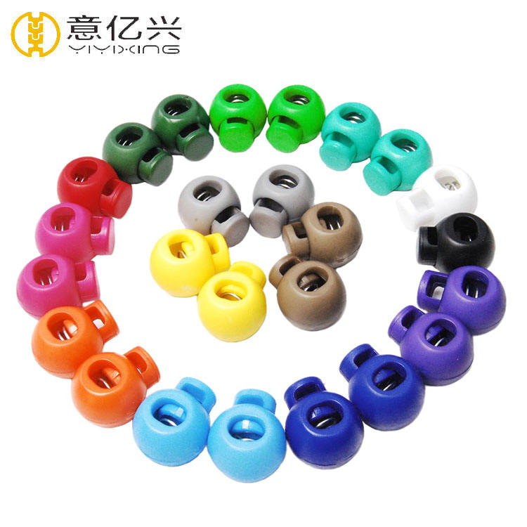 Cheap Stopper Supplier Eco Friendly Rope Ending Plastic Cord Lock From China