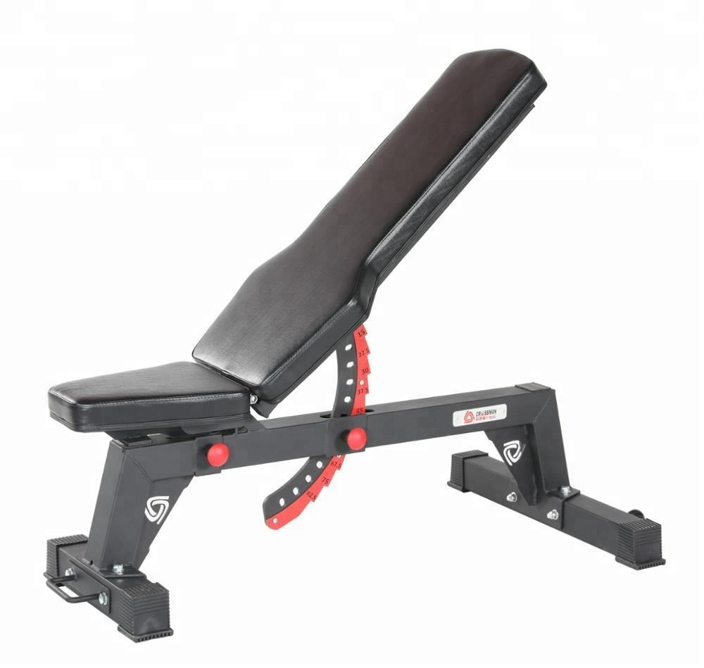 Steel bodybuilding customized logo fitness excel exercise weight bench