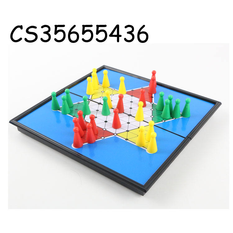 Hot selling educatief magnetische bordspel speelgoed Chinese <span class=keywords><strong>checkers</strong></span>