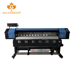 Cheap price full automatic xp600 eco solvent printer and cutter