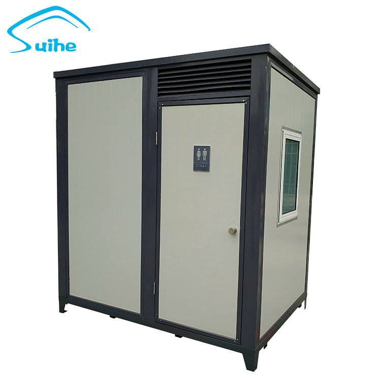 Portable full shower facilities public use container mobile toilet