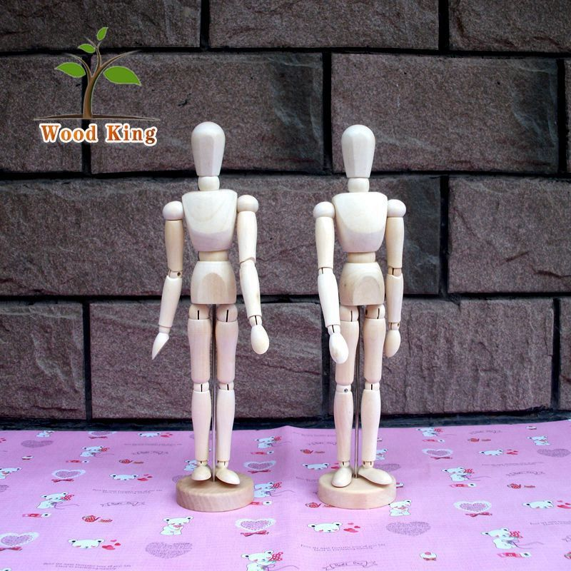 Wooden Doll Model Polishing Place Adorn Joints Sketch Art Cartoon Characters Molding Decoration Guangzhou Art And Craft