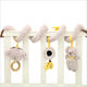 Cute Koala Bed Ring Paper Plush Bed Bell Car Music Hanger Around Safety Mirror