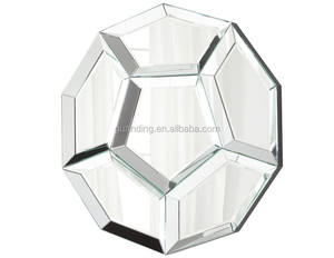 3d muur glas spiegel moderne fancy home decor opknoping clear spiegel