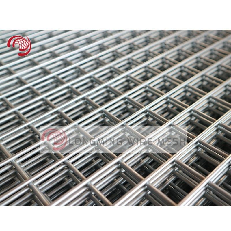 Welded Wire Mesh Panels / Low Carbon Steel Concrete Reinforcing Mesh for Construction