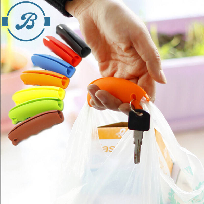 2020 Hot selling silicone Shopping Bag Carrier Grocery Holder Handle Comfortable Grip