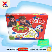 english words card bingo game for kids spin board to get the words soon
