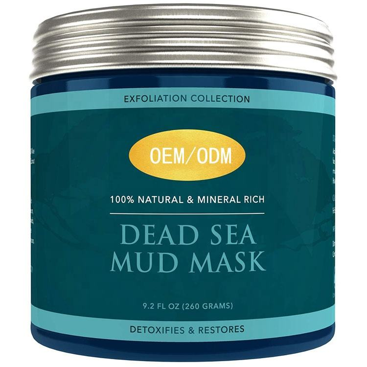 Wholesale Private Label OEM/ODM Dead Sea Mud Remove Blackheads Moisturizing Black Mask Peel Off Facial Mask