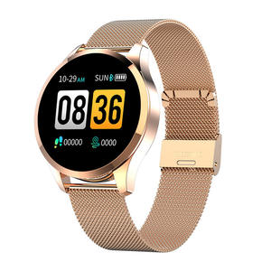 2019 Karen M Men women fashion smartwatch Q9 smart watch ip67 Waterproof with heart rate Blood Pressure Monitor Fitness Tracker
