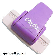 fancy border punch S flower design embossing Punch scrapbooking handmade edge device DIY paper cutter Handmade Craft gift