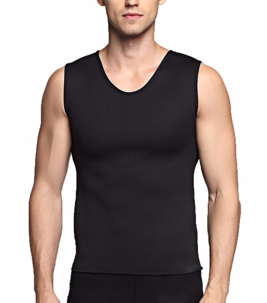 China Factory Men`s Ultra Sweat Shirt Sports Sweat Enhancing T-shirt Weight Loss Control Tank Top