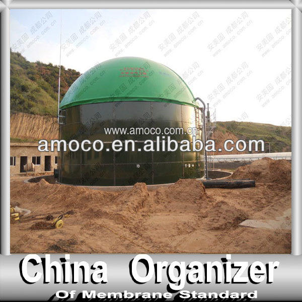 Bioreactor cover for biogas plant, business in Finland, Turkey, India, Malaysia, Korea, etc.