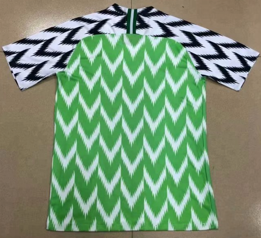 Customized 2018 Nigeria Home Best Thai Quality Soccer Jersey