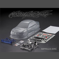 Clear Polycarbonate RC Carshell Car Body for 1/10 on-road Car