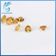 genuine wholesale price round shape natural citrine gemstone beads