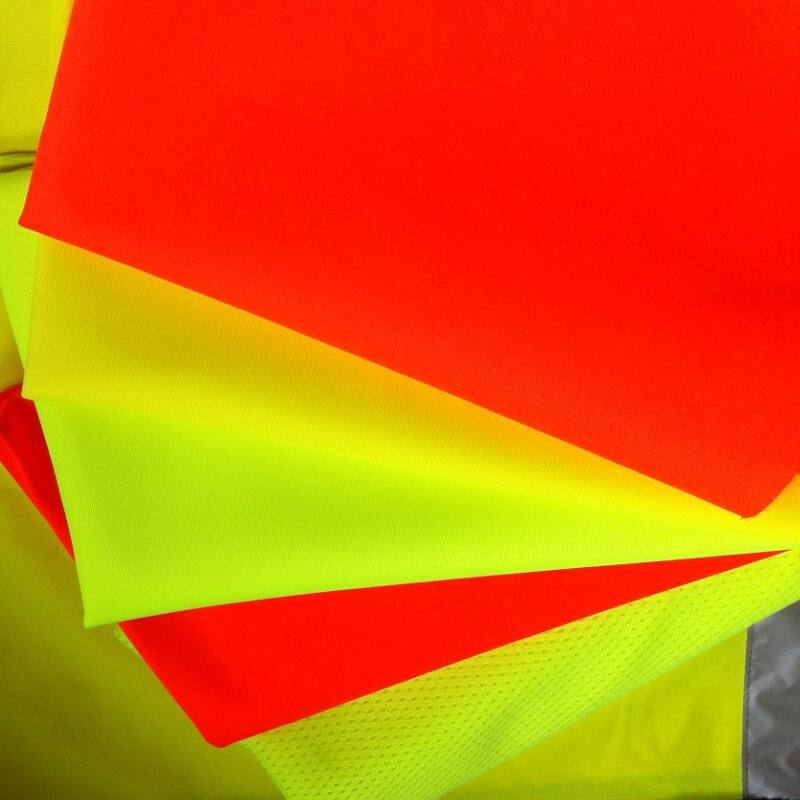 heat reflective fabric for safety vest,fluorescent yellow fluorescent orange