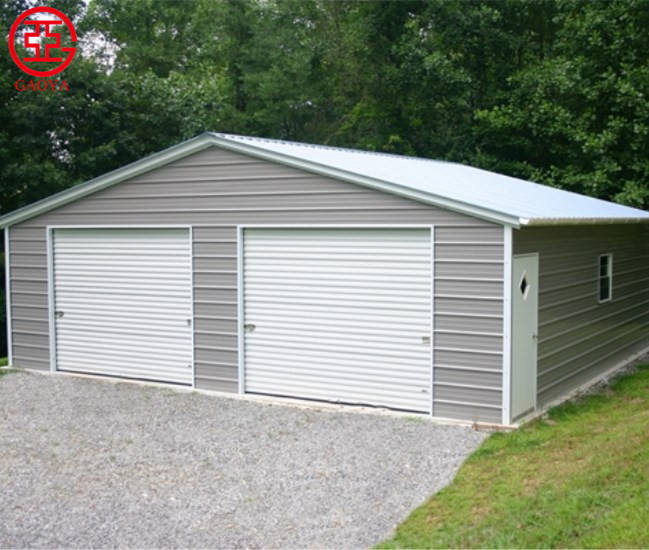 China good quality prefab metal steel carport garden storage shed