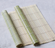 Sushi Roller Sushi Bamboo Customize Size Square Natural Bamboo Sushi Making Roll Roller Mat