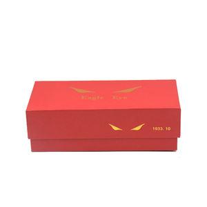 Custom print sunglasses packaging cardboard box for glasses