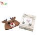 2020 new design high quality cute reindeer pattern cap manual game DIY crochet doll hot selling crochet toy handmade