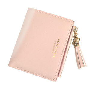 Factory Direct Selling Anti-theft Fashion Small Little Short PU Ctstom Women Wallet