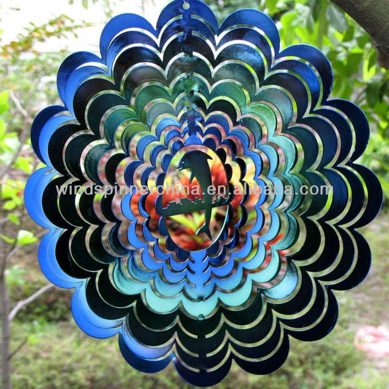 high quality stainless steel wind spinner