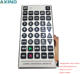 Good quality sliver jumbo universal remote control with big buttons