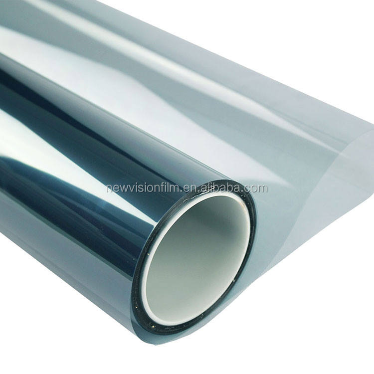 Indonesia market UV400 Anti-Scratch Nano Ceramic Blue Color Tinting Window Film For Automotive