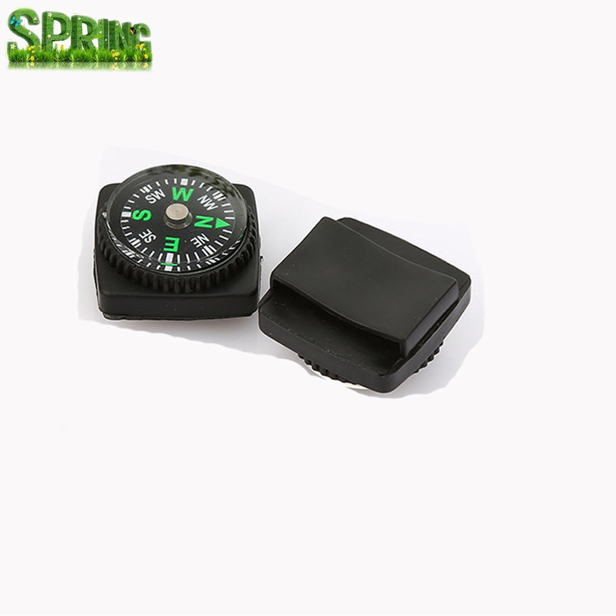 Promotion Rubber Compass, Watch Strap Compass, Lanyard Compass Accessory